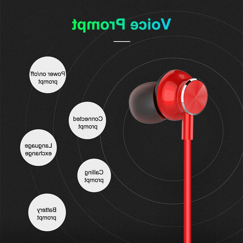 Neckband Headphones Wireless Earbuds Earphones