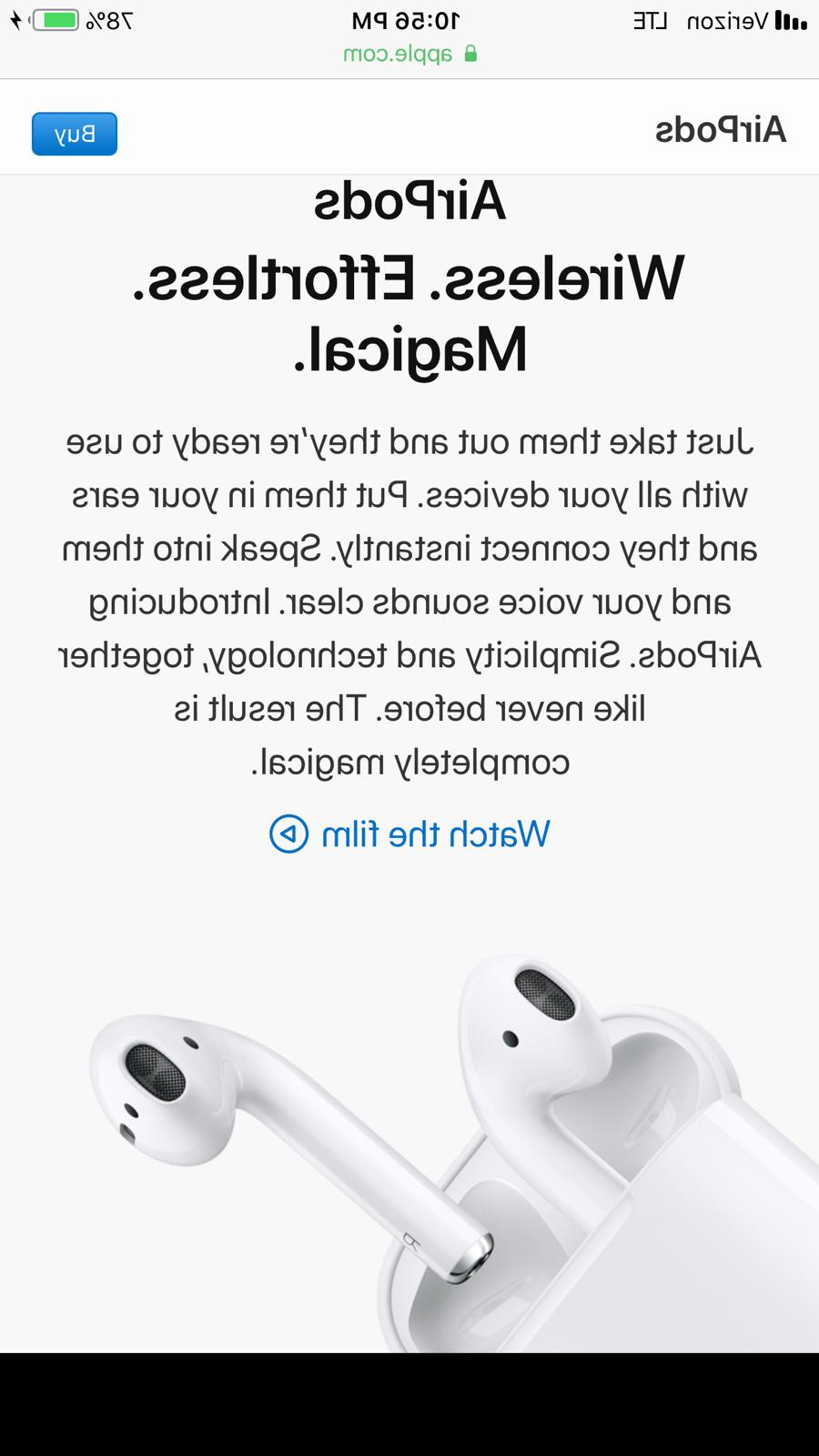 NEW Apple AirPods Earbuds 2 Left IN PACKAGING!