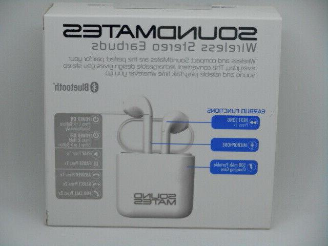 New Mates Bluetooth With Charging Case