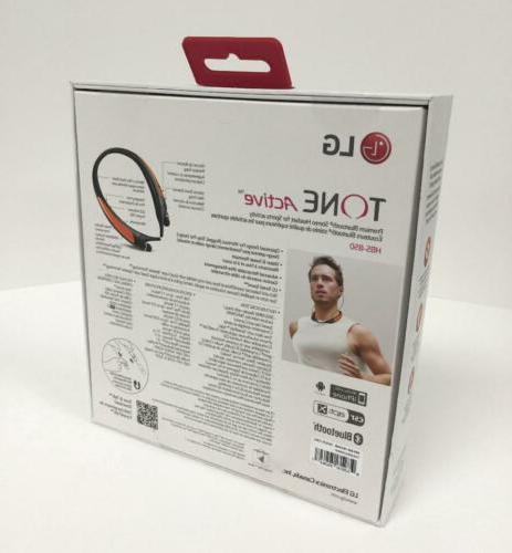 SEALED GENUINE Active Bluetooth Sports HBS850 -