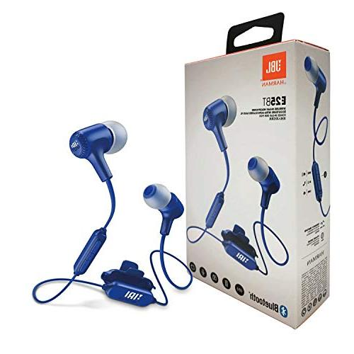 JBL Signature Sound E25BT Wireless Headset - Button Remote/Mic & Google Charger