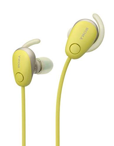 Sony SP600N Wireless Noise Canceling Yellow