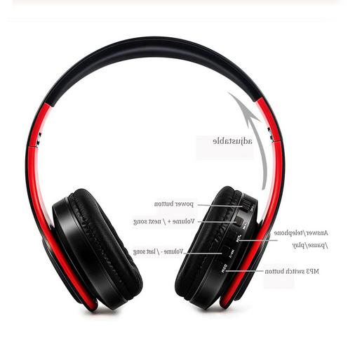 Headphones Foldable Stereo Earphones Headsets