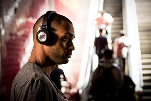 JBL Synchros On-Ear Signature Performance, Wireless Shareme Music Sharing and Fit, Black