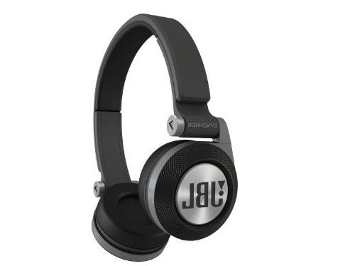 JBL On-Ear Headphones with Signature Sound, Purebass Wireless Sharing and a Fit, Black