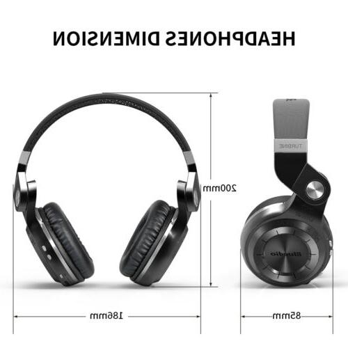 Bluedio T2S Bluetooth Headphones Microphone Headsets