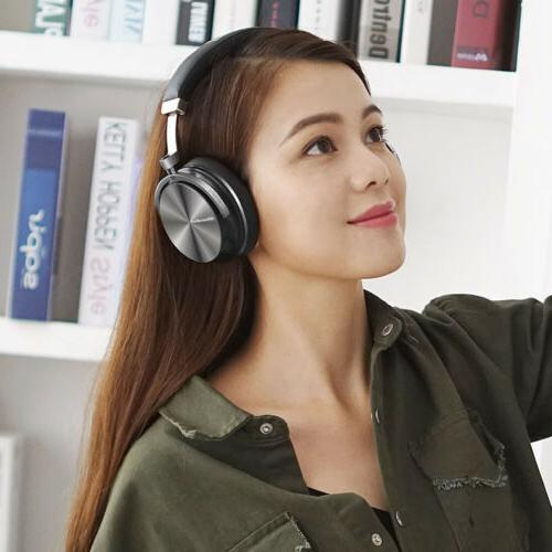Bluedio Noise Headset Red