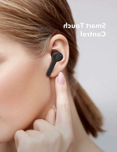 True Earbuds, TaoTronics Bluetooth Headphones in-Ear...