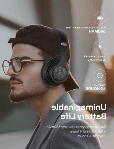 Tribit Headphones EarHi-Fi Sound