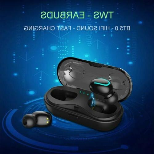 TWS Wireless 5.0 Earbuds Headset Headphones