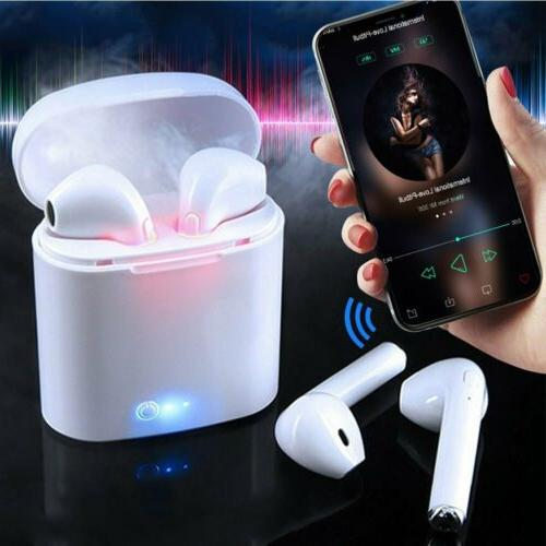 TWS 5.0 Headphones Earbuds For 7 8 X Charger