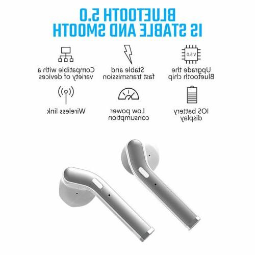 TWS Wireless Earbuds Bluetooth Pods For
