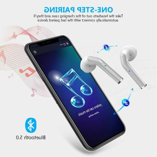 Waterproof Bluetooth 5.0 Headphones Wireless Noise