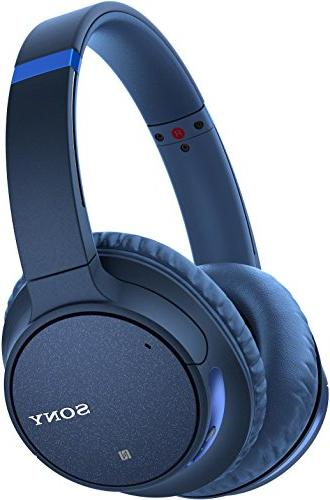 Sony WH-CH700N Canceling Headphones, Blue Portable Speaker