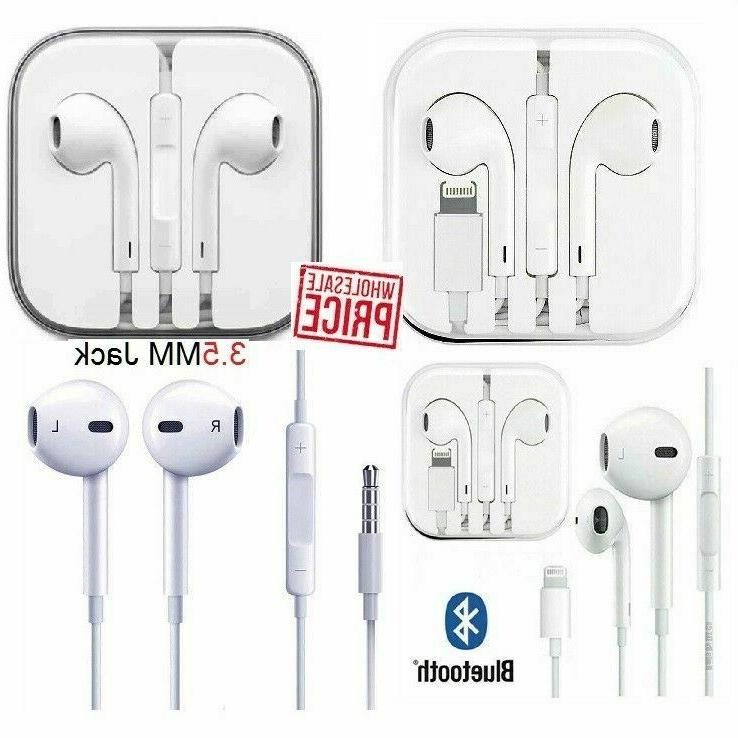 wired headset headphones earbuds for apple iphone