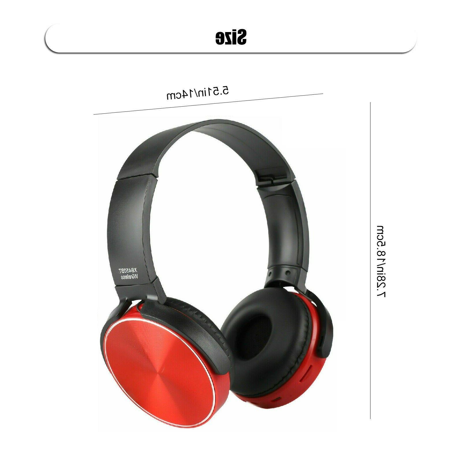 Super Headphones Stereo Headsets Mic