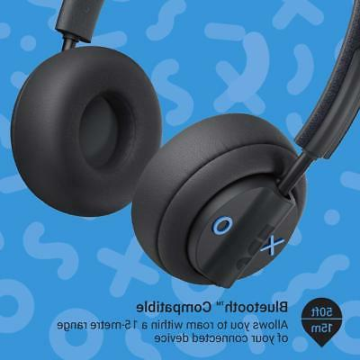 Wireless Jam THERE On Ear Active Noise Cancelling Bluetooth