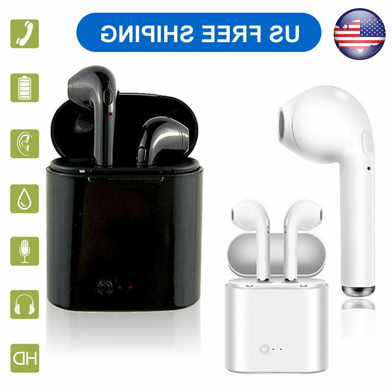 wireless bluetooth dual headphones headsets tws earphone