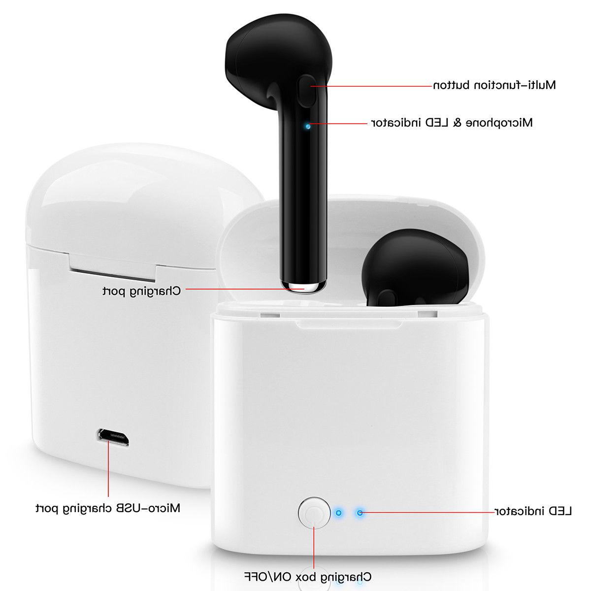 Wireless Earbuds Headphones Apple iPhone