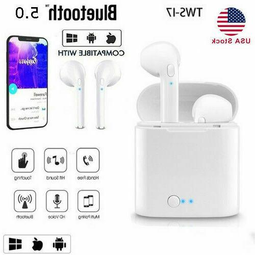 i7s Wireless Earphones iPhone Android Airpods