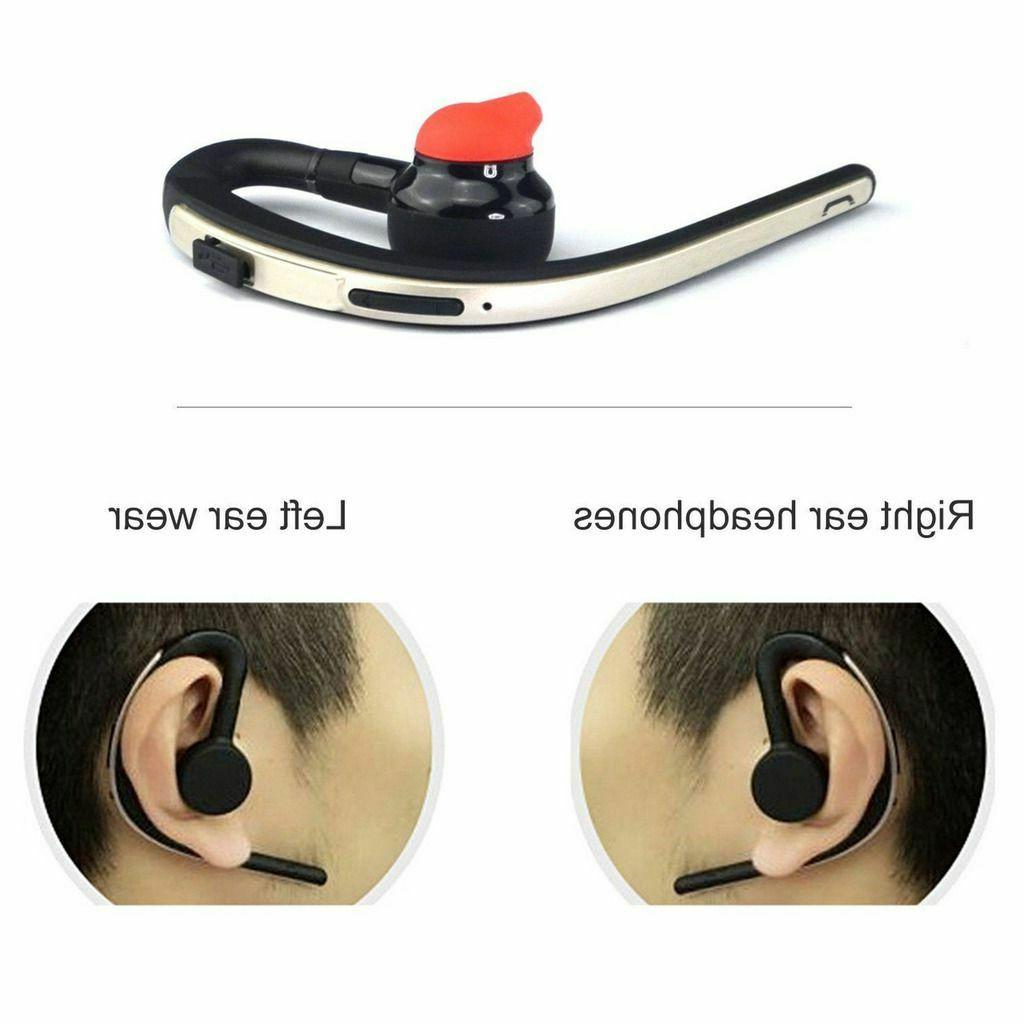 Wireless Bluetooth Headset Over-Ear Earphone Cell