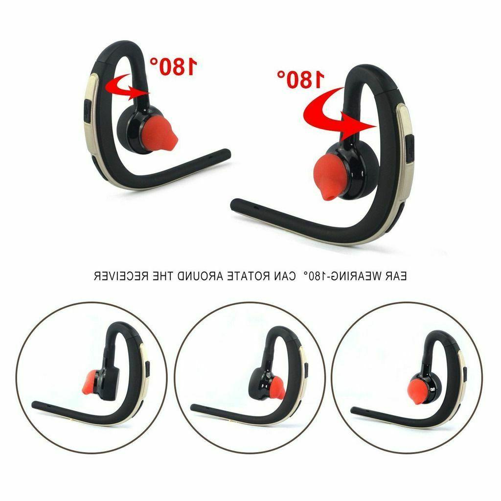 Wireless Earpiece Sport Headset Earphone Cell Phones
