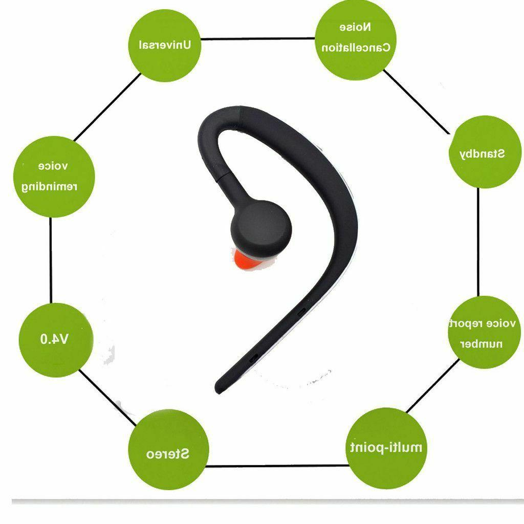 Wireless Bluetooth Headset Over-Ear for Cell Phones