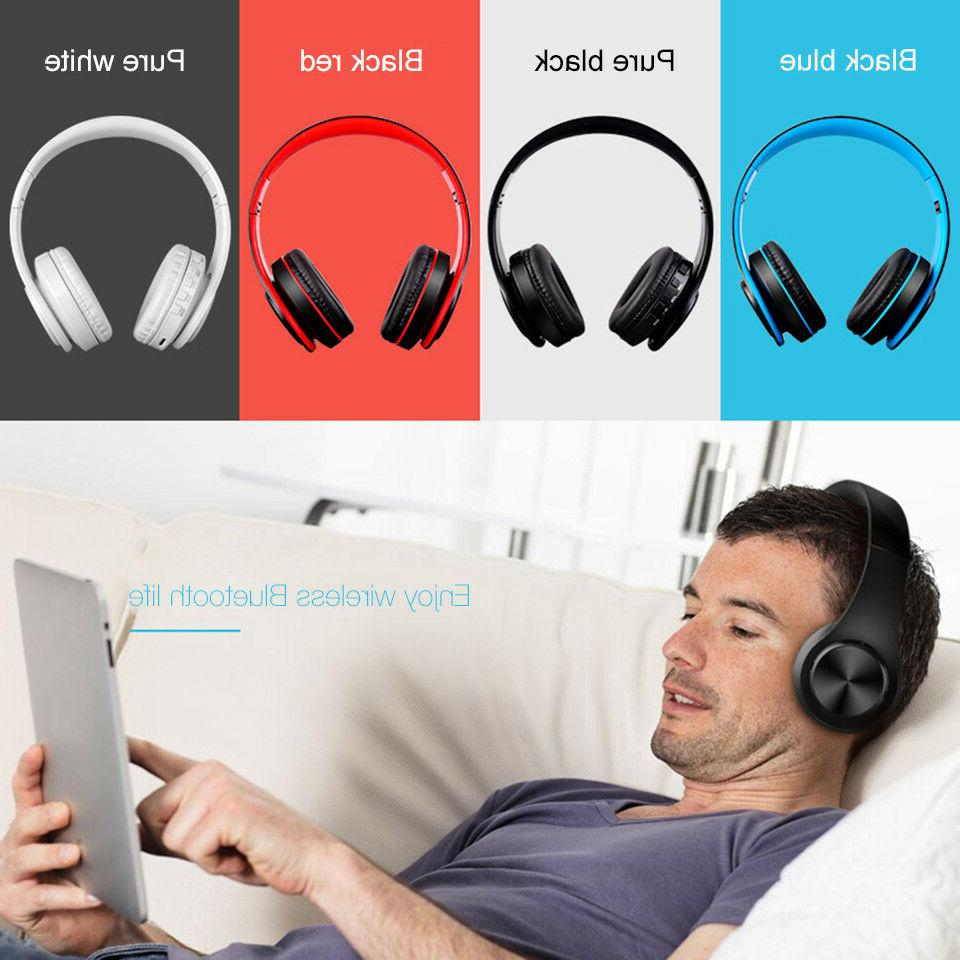 Wireless Headphones Stereo Headset Mic