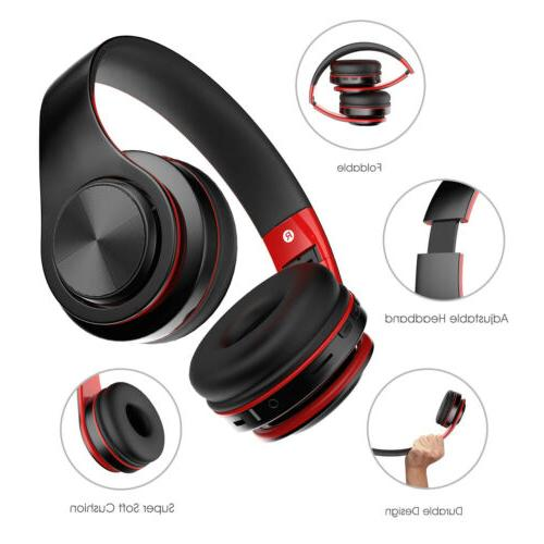 Wireless Bluetooth Headphones Ear Foldable