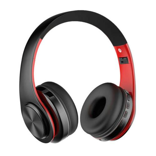 Wireless Bluetooth Headphones Ear HiFi Headset