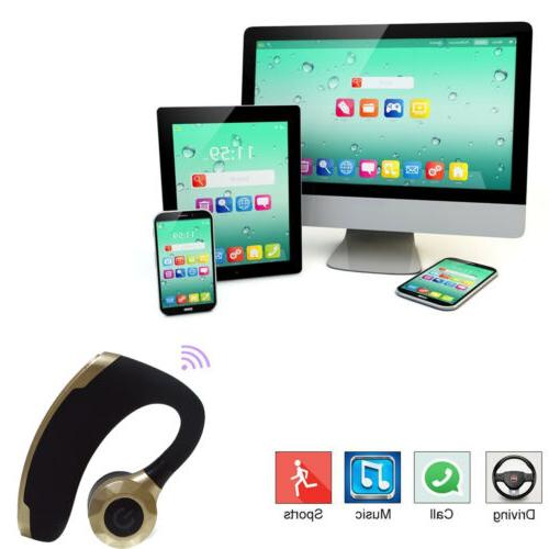 Wireless Bluetooth Stereo Headphone Over-Ear for Phone Samsung
