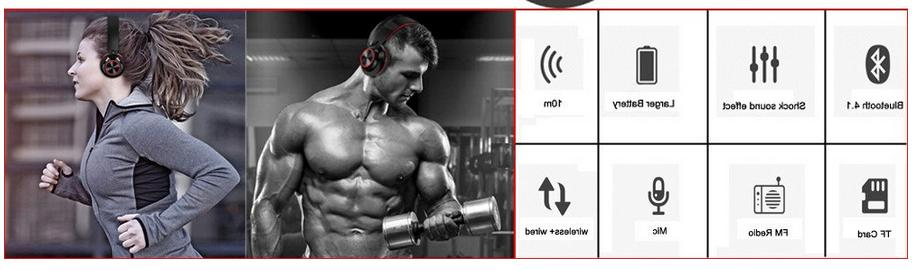 Wireless Bluetooth Noise Canceling Over Ear Headset Micropho