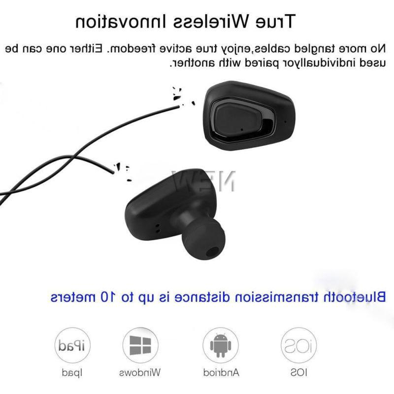 Wireless Bluetooth Mini HIFI Sport Earbuds In