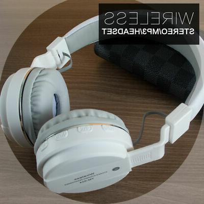 Wireless Bluetooth Stereo with Mic Super HiFi Over