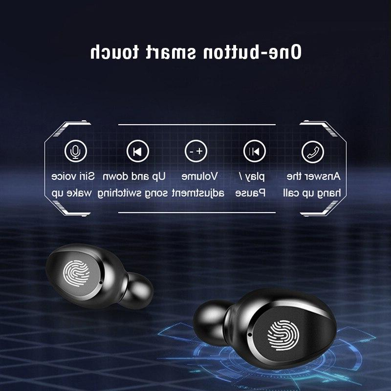 Wireless Earphone <font><b>Bluetooth</b></font> F9 TWS LED Display With Headset Microphone <font><b>Bluetooth</b></font> <font><b>Headphone</b></font>