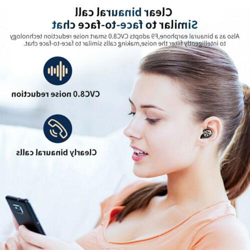 Wireless 5.0 Noise Waterproof Headset