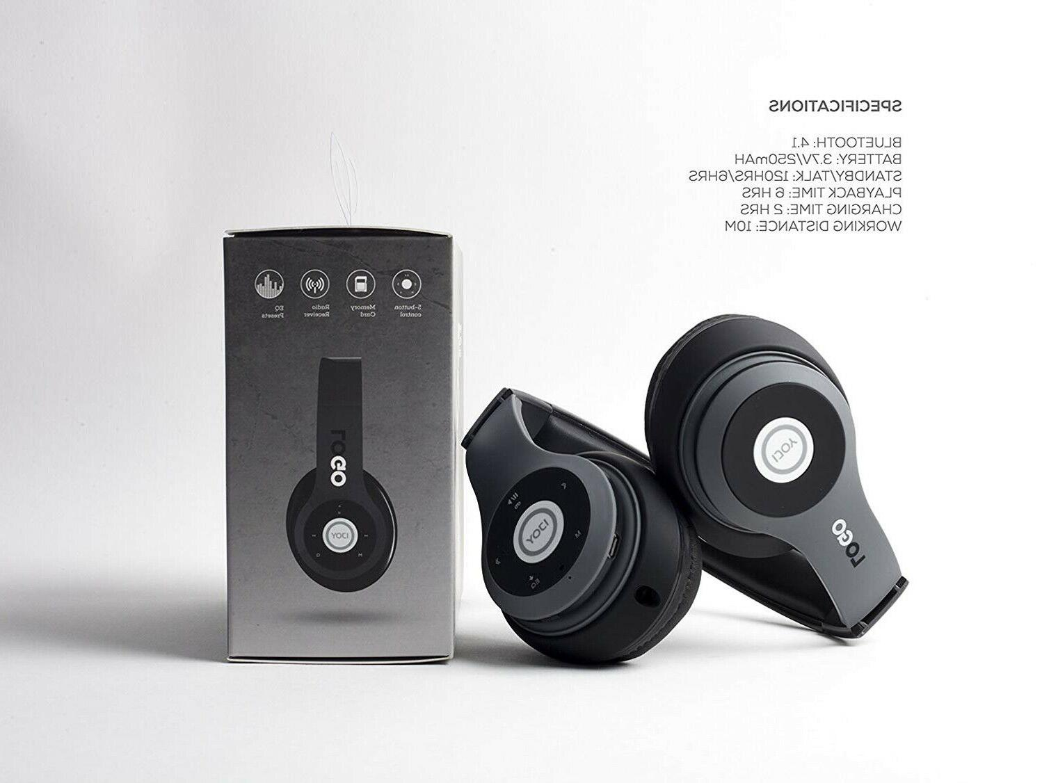 Wireless Headphones Bluetooth Ear Headphones Foldable Headset with