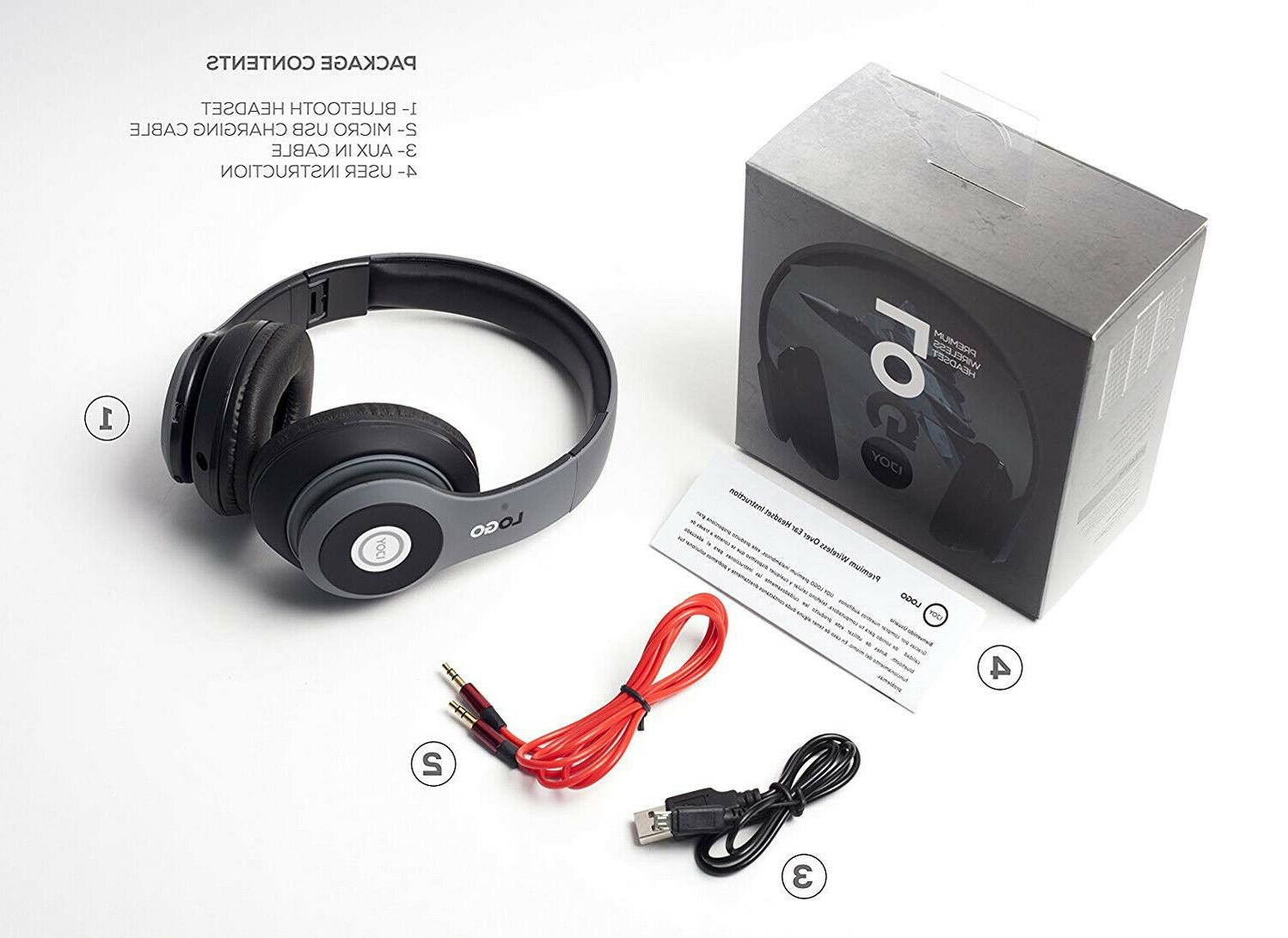 Wireless Headphones Bluetooth Ear Headset with