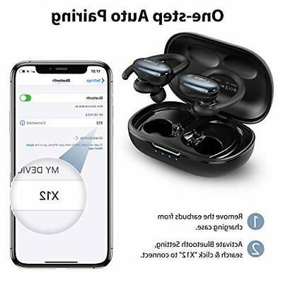 Wireless 5.0 Earbuds Touch Cont