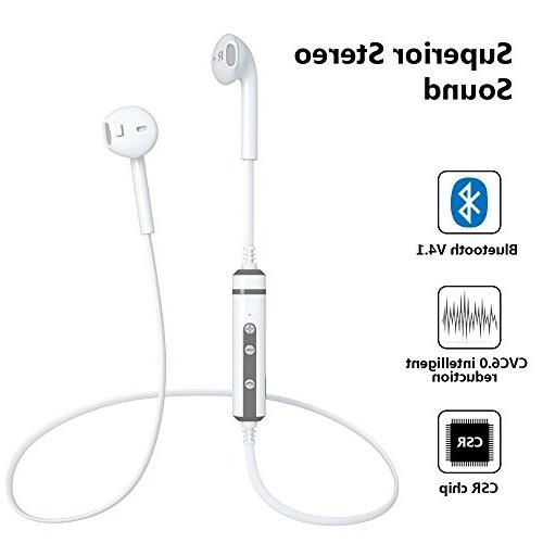 LBell Wireless Headphones V4.1 Wireless Noise Cancellation Stereo Headphones with Mic iPhone Android