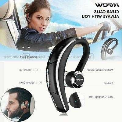 Mpow Wireless Headset Handsfree Ear Earpiece