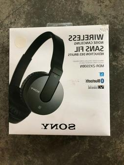 Sony MDR-ZX55OBN Bluetooth-Active Noise Cancelling Headphone