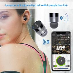 MINI TOUCH CONTROL TRUE WIRELESS EARBUDS HEADPHONES BLUETOOT