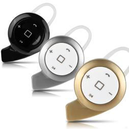 Mini Wireless Stereo Bluetooth Headset Headphone Earphone Fo