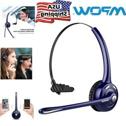 MPOW Pro Bluetooth Headset Wireless Headphone Earphone Mic f