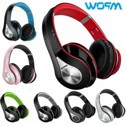 Mpow Wireless Bluetooth Over Ear Headphones Hi-Fi Stereo Hea