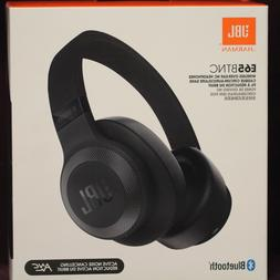 NEW JBL E65BTNC BLUETOOTH OVER-EAR HEADPHONES NOISE REDUCTIO