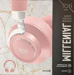 NEW iJoy Premium Comfort Wireless Headphones Rechargeable Bl