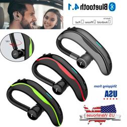 Noise Cancelling Bluetooth Headset Wireless Earphone for iPh
