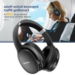 Noise Cancelling Bluetooth Wireless Headphones Foldable Ster